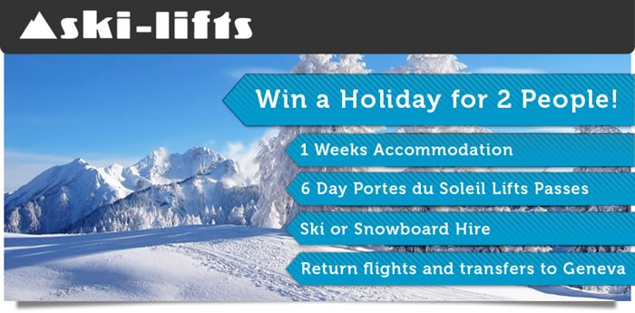Win a Holiday for 2 this winter in Morzine