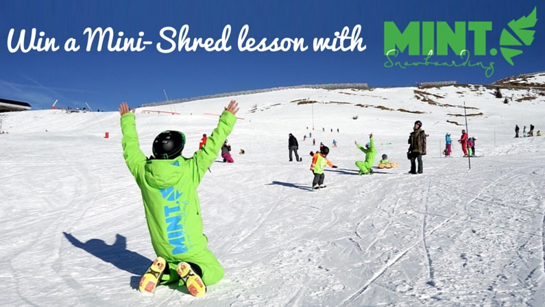 The 'Mini Shred Movement' Snowboarding with Small Children