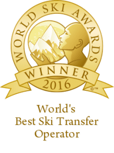 World's Best Ski Transfer Operator 2016