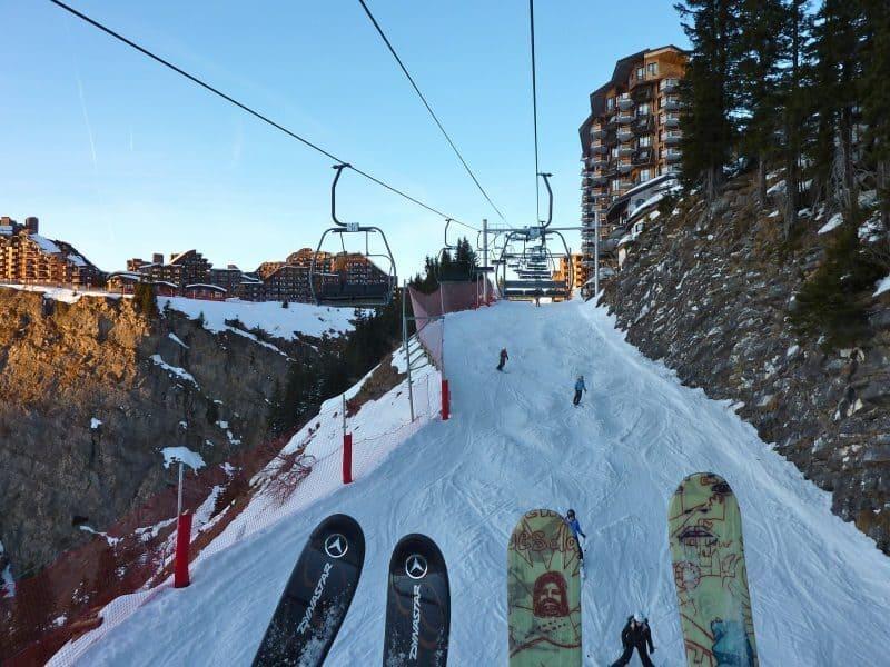 Avoriaz Skiers