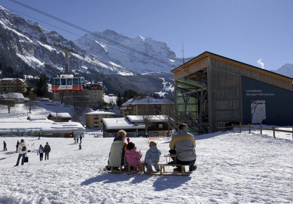 The Best Family Ski Resorts in the Alps