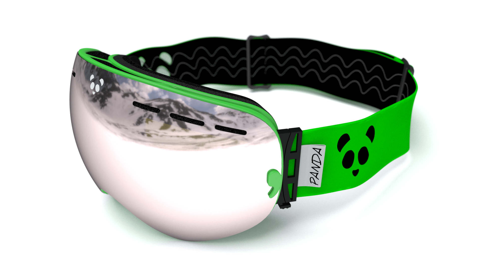 Win Panda Optics Polarised Ski Goggles