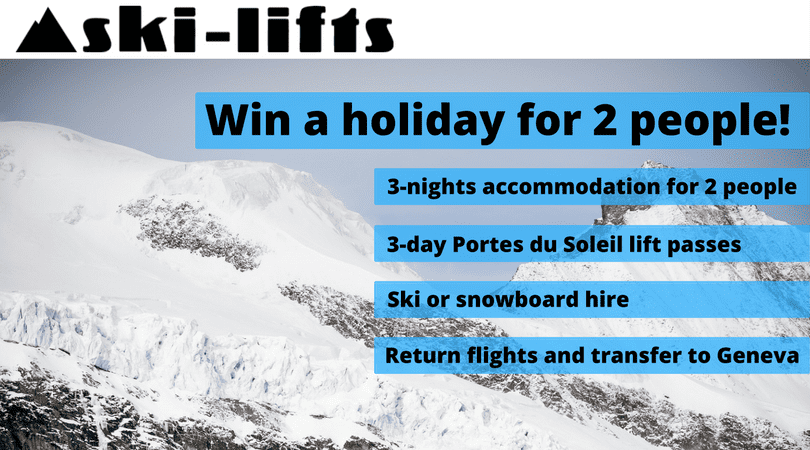 Win a Ski Holiday for 2 This Winter in Morzine
