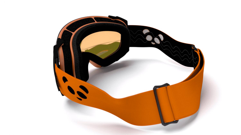 Win a Pair of Panda Optics Funnel Orange Ski Goggles