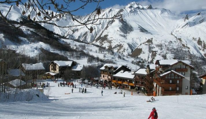St Martin Ski resort