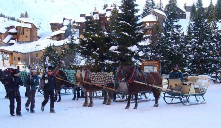 Horse Taxi, Avoriaz
