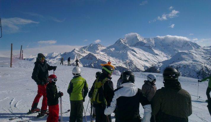 La Plagne Ski Lesson