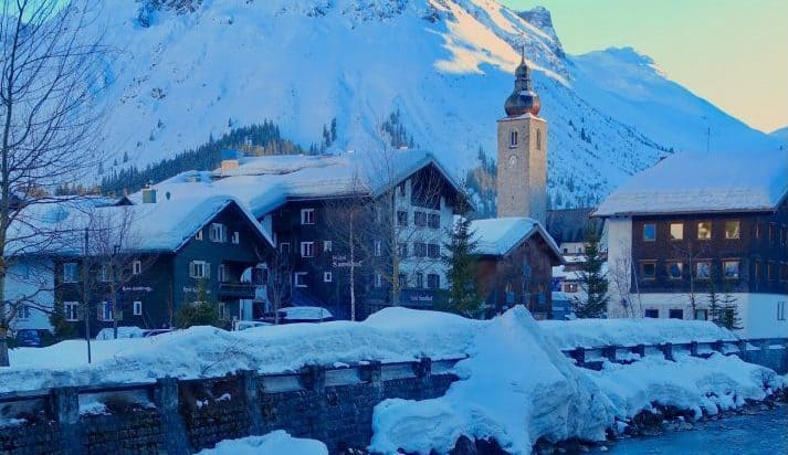 Lech in Winter