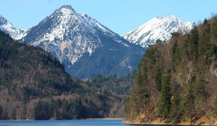 Alps scenery