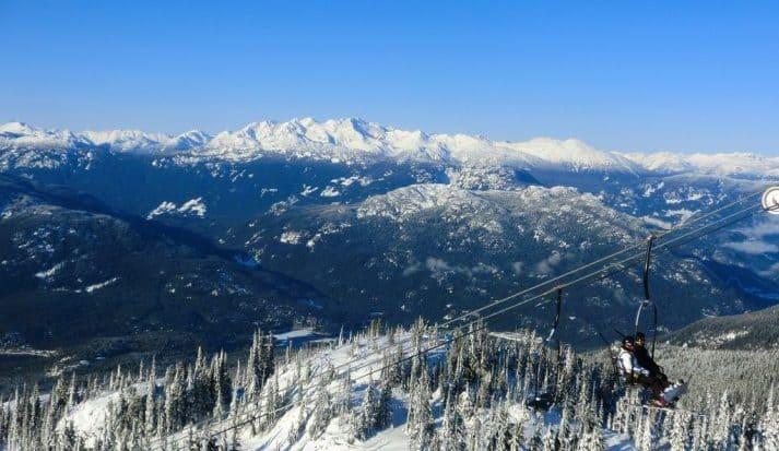 Ski in Whistler