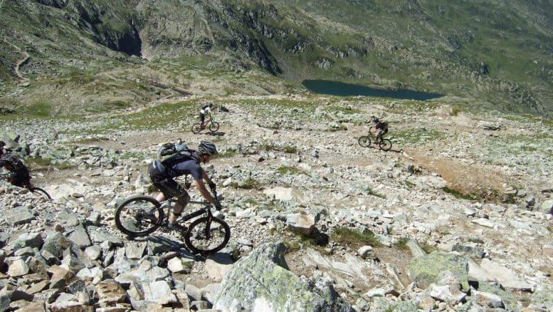 mountain biking chamonix