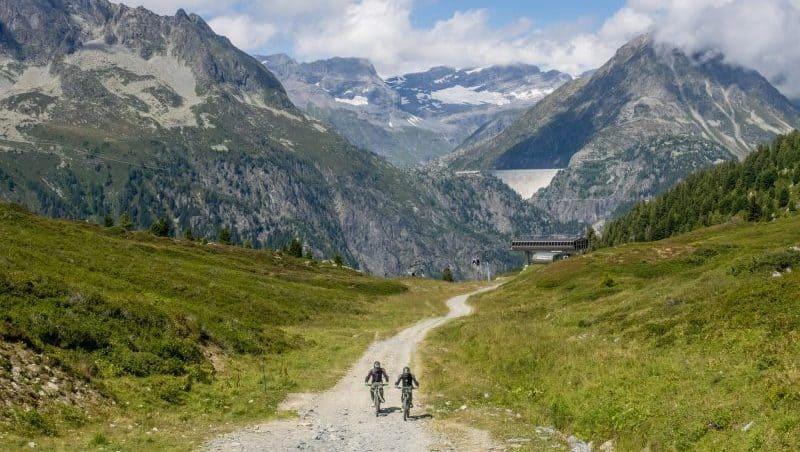 vallorcine mountain biking