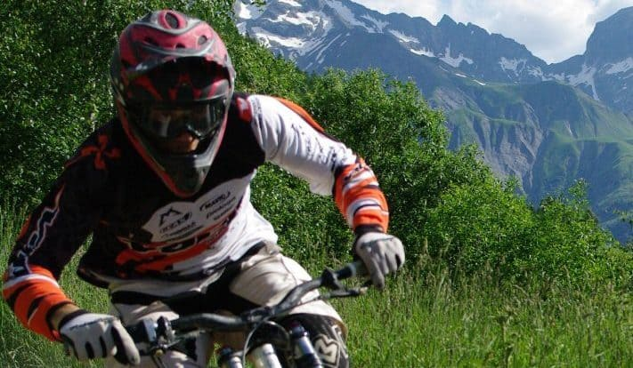 Mountain Biking in Les Deux Alpes