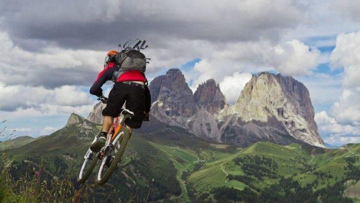 The Best Mountain Biking in the Italian Alps