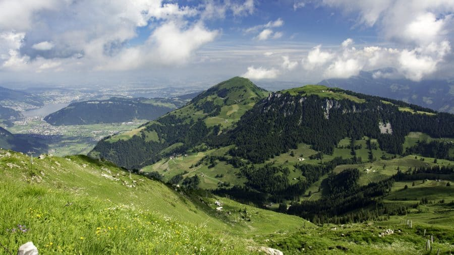 Hiking in Switzerland