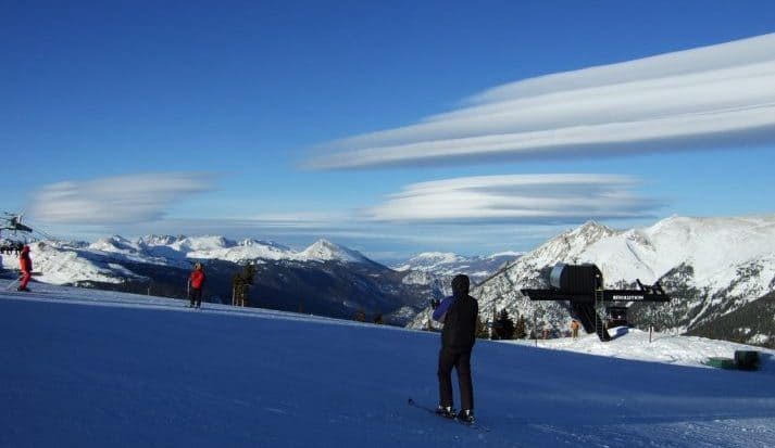 Copper Mountain Skier
