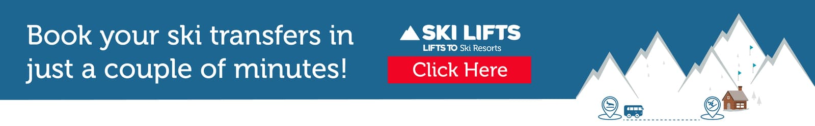 Book your ski transfers in just a couple of minutes - airport transfers offered by Ski Lifts