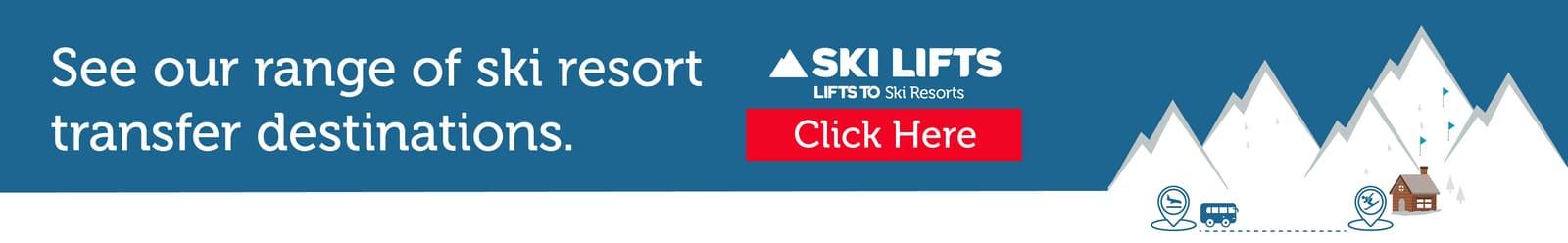 Ski Lifts Ltd transfers Banner