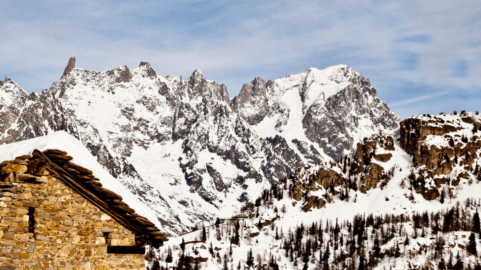 Courmayeur Mont Blanc Monte Bianco Ski Lifts